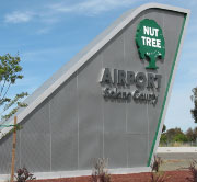 Nut Tree Airport Sign