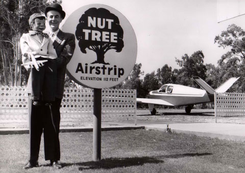 Nut Tree Airstrip Sign