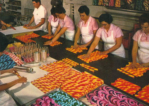 Women Making Candy